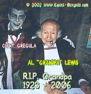Click here to go to Count Gregula's Al Lewis Tribute page.