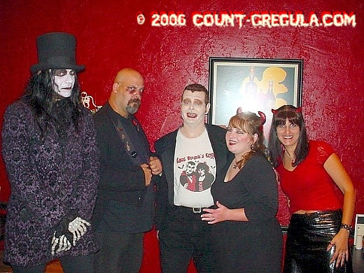 Dr. Destruction, Scary Perry, Count Sam, Countess Lily & Devil Girl Branka